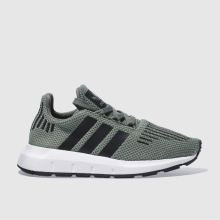 Adidas Green Swift Run Unisex Junior