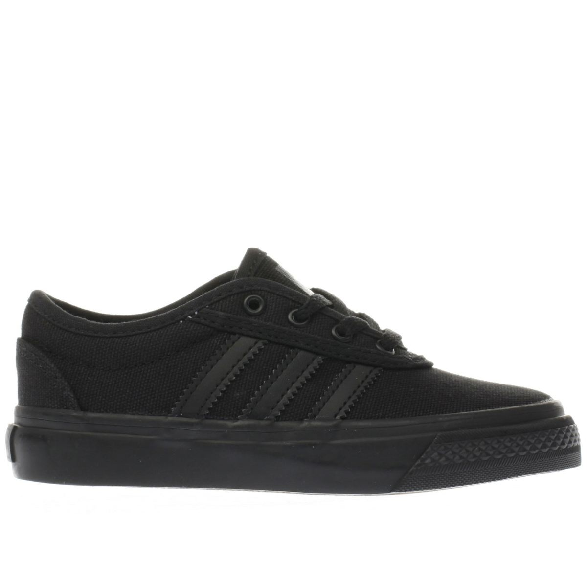 adidas black ease Junior Trainers