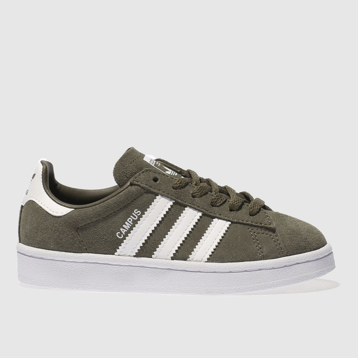 adidas khaki campus Junior Trainers