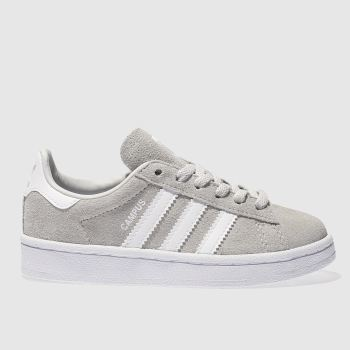 Adidas Grey Campus Unisex Junior