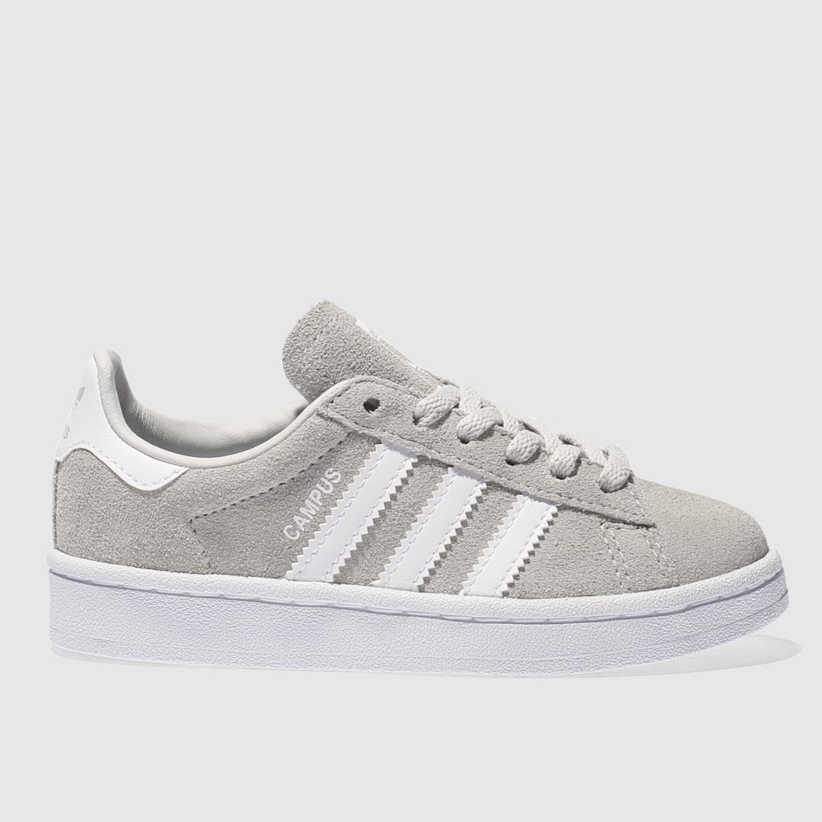 adidas light grey campus Junior Trainers