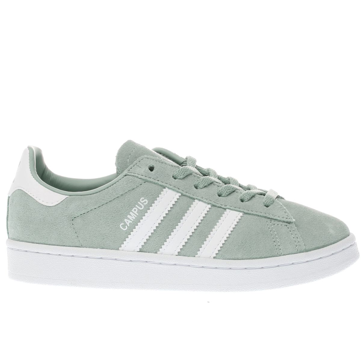 adidas light green campus Junior Trainers