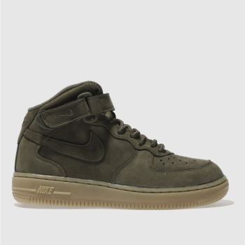 Nike Khaki Air Force 1 High Wb Unisex Junior
