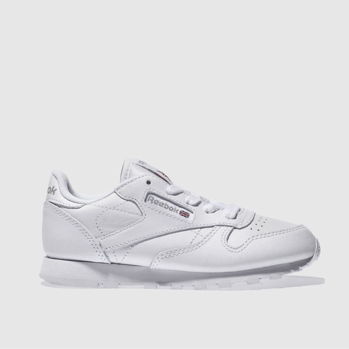 Reebok White Classic Leather Unisex Junior Junior