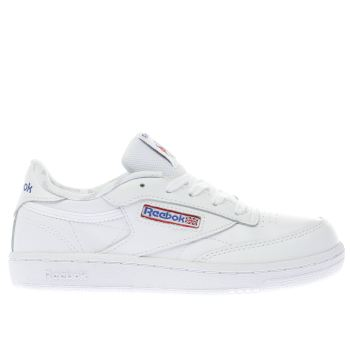Reebok White Club C 85 Unisex Junior