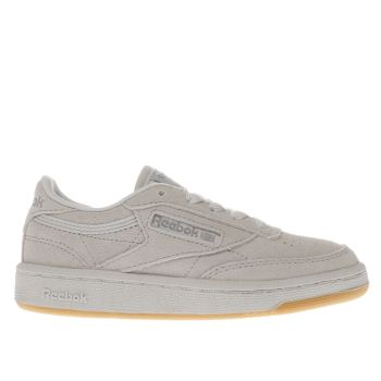 Reebok Light Grey Club C 85 Unisex Junior