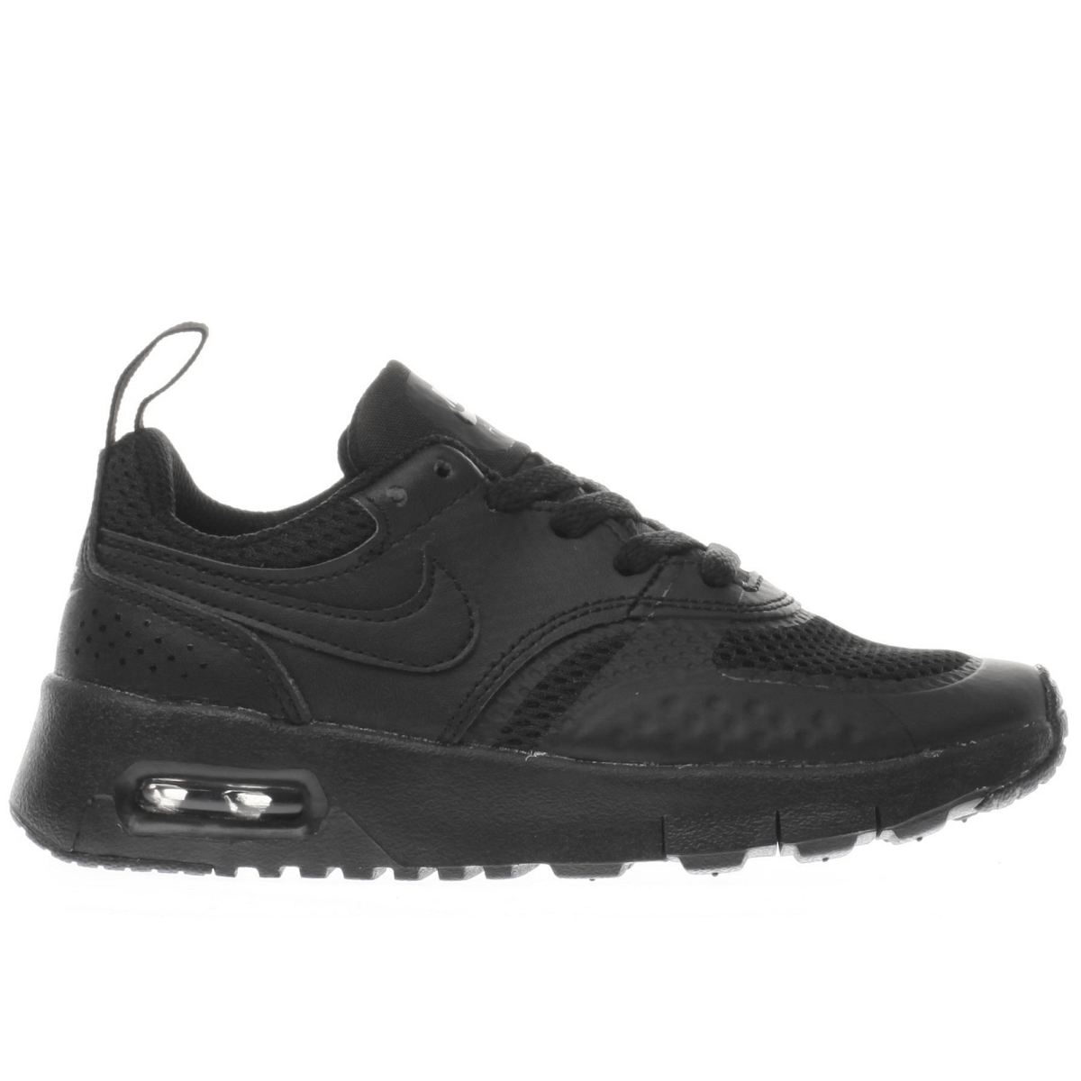 nike black air max vision Junior Trainers