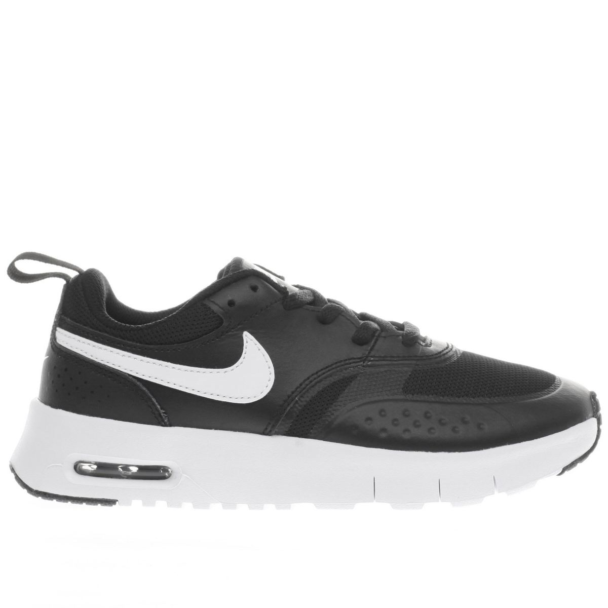 nike black & white air max vision Junior Trainers
