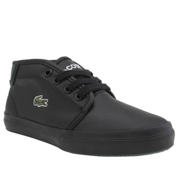 Lacoste Black Ampthill Unisex Junior
