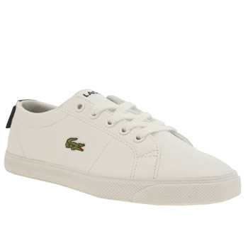 Lacoste White & Navy Marcel Unisex Junior