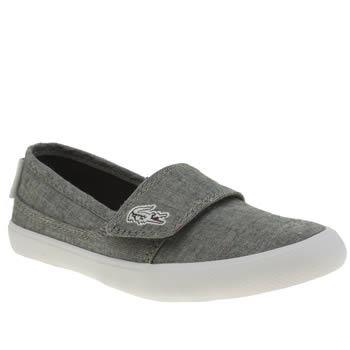 Lacoste Grey Marice Unisex Junior