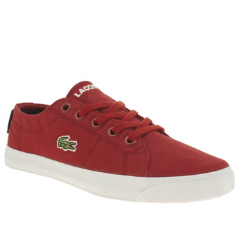 Lacoste Red Marcel Unisex Junior