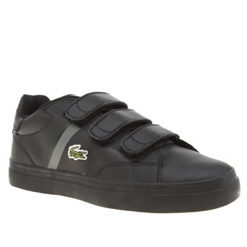 Lacoste Black Fairlead Unisex Junior