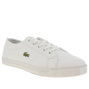 Lacoste White Marcel Unisex Junior