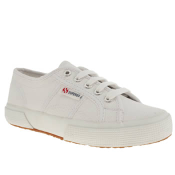 Superga White 2750 Unisex Junior