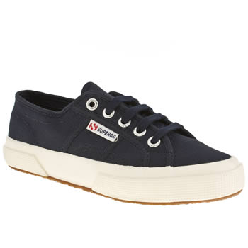 Superga Navy 2750 Unisex Junior