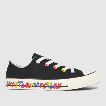 Superga Black 2750 Unisex Junior