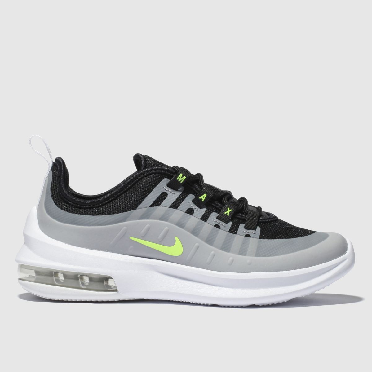 Nike Black & Grey Air Max Axis Trainers Junior