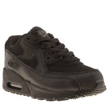 Unisex Nike Black Air Max 90 Unisex Junior