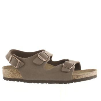 Birkenstock Brown Roma Unisex Junior