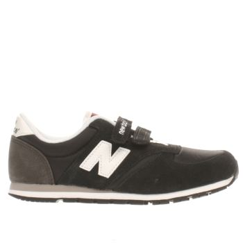 New Balance Black 420 Unisex Junior