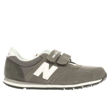 NEW BALANCE GREY 420 JUNIOR TRAINERS