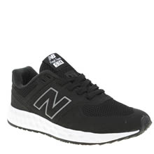 New Balance Black 574 Fresh Foam Unisex Junior