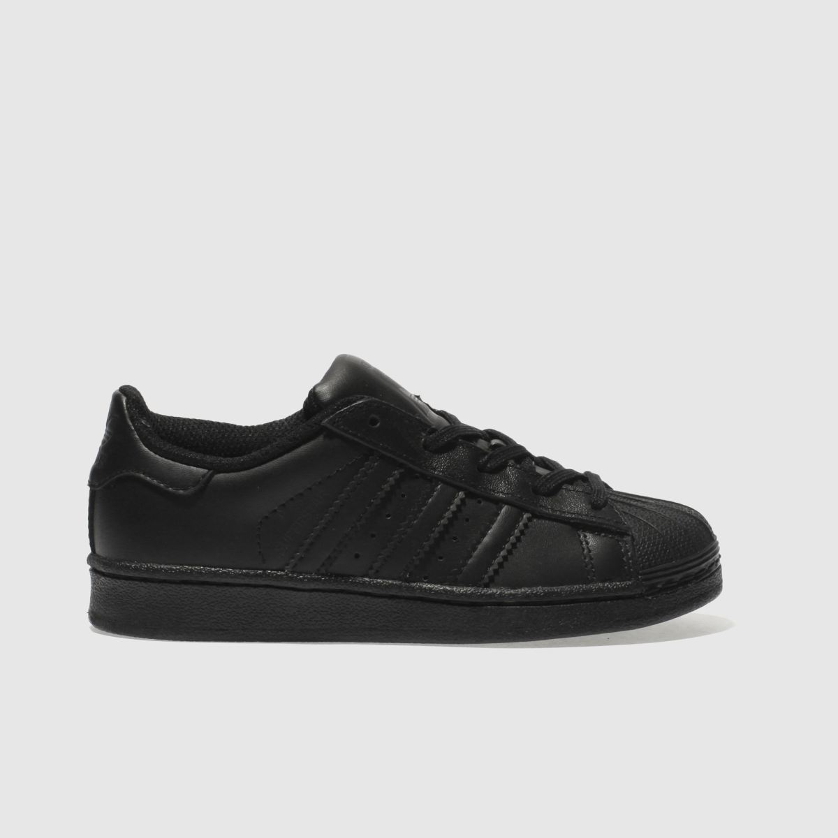 adidas black superstar foundation Junior Trainers