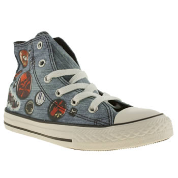 Unisex Converse Pale Blue All Star Real Photo Unisex Junior