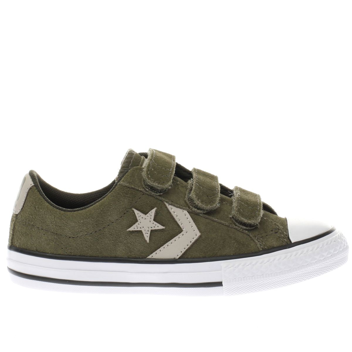 converse khaki star player 3v ox Junior Trainers