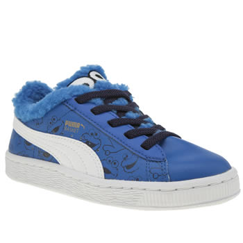 Puma Blue Basket Sesame Street Unisex Junior