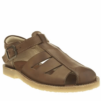 Young Soles Tan Frankie Unisex Junior
