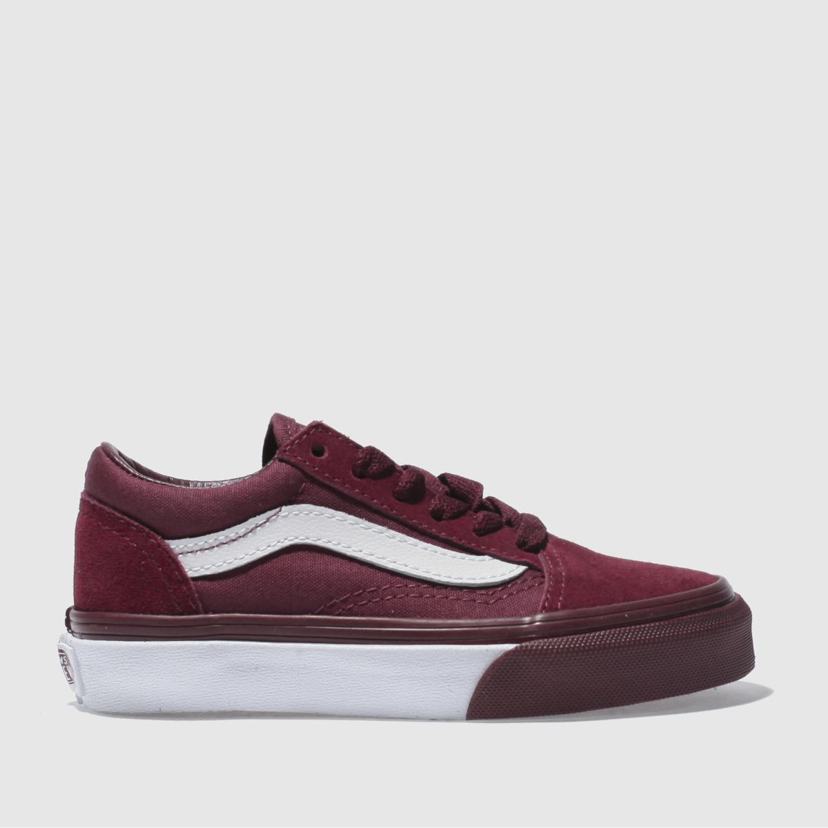 Vans Burgundy Old Skool Unisex Junior Junior