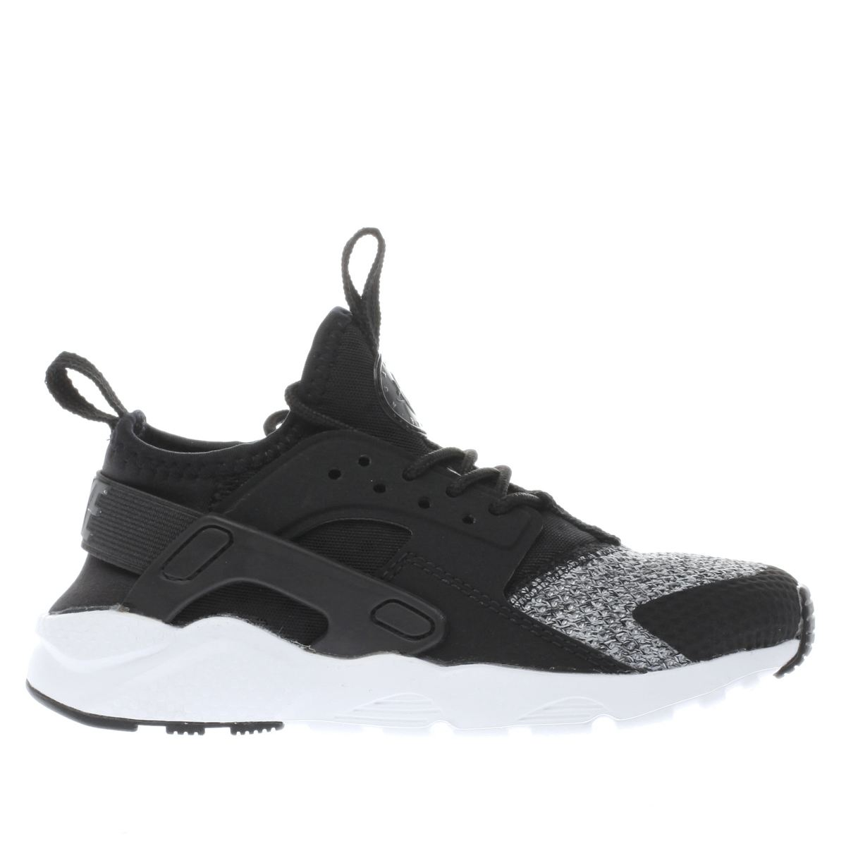 nike black & grey huarache run ultra Junior Trainers