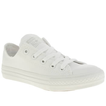 Converse White All Star Oxford Unisex Junior