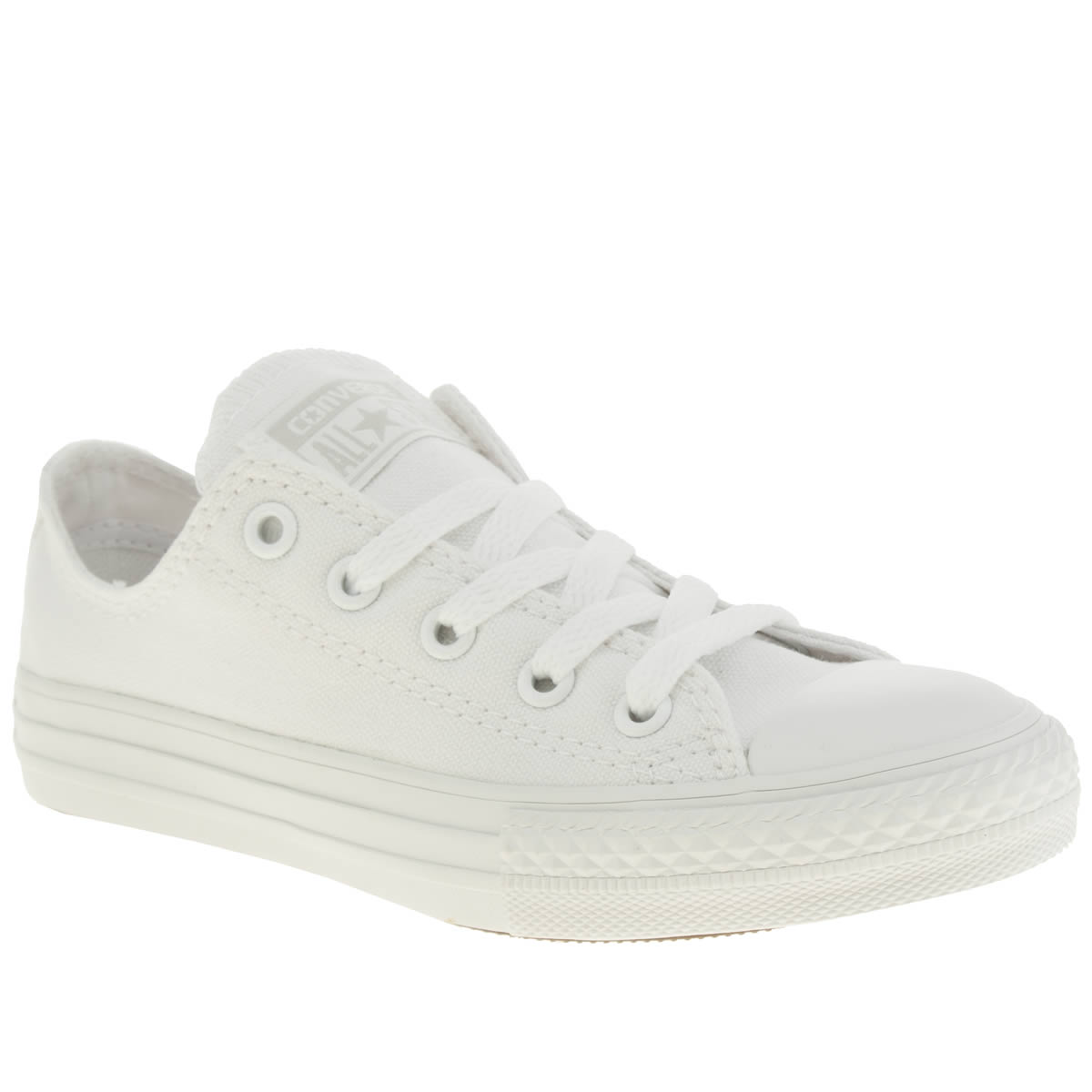 converse white all star oxford Boys Junior Trainers