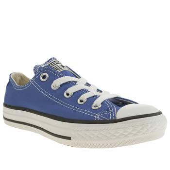 Unisex Converse Blue All Star Oxford Unisex Junior