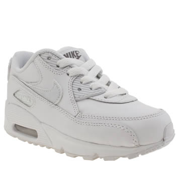 Nike White Air Max 90 Ltr Unisex Junior