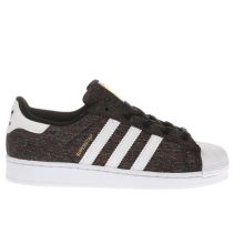 Adidas Black & White Adi Superstar Jnr Unisex Junior