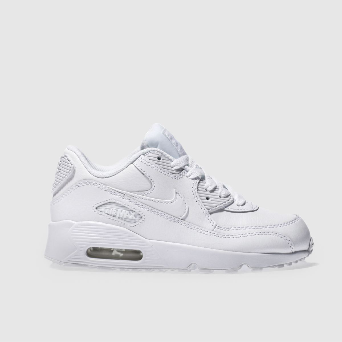 nike white air max 90 Junior Trainers