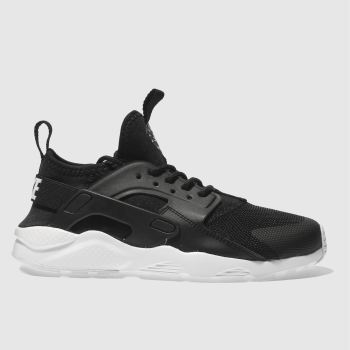 Nike Black Huarache Run Ultra Unisex Junior