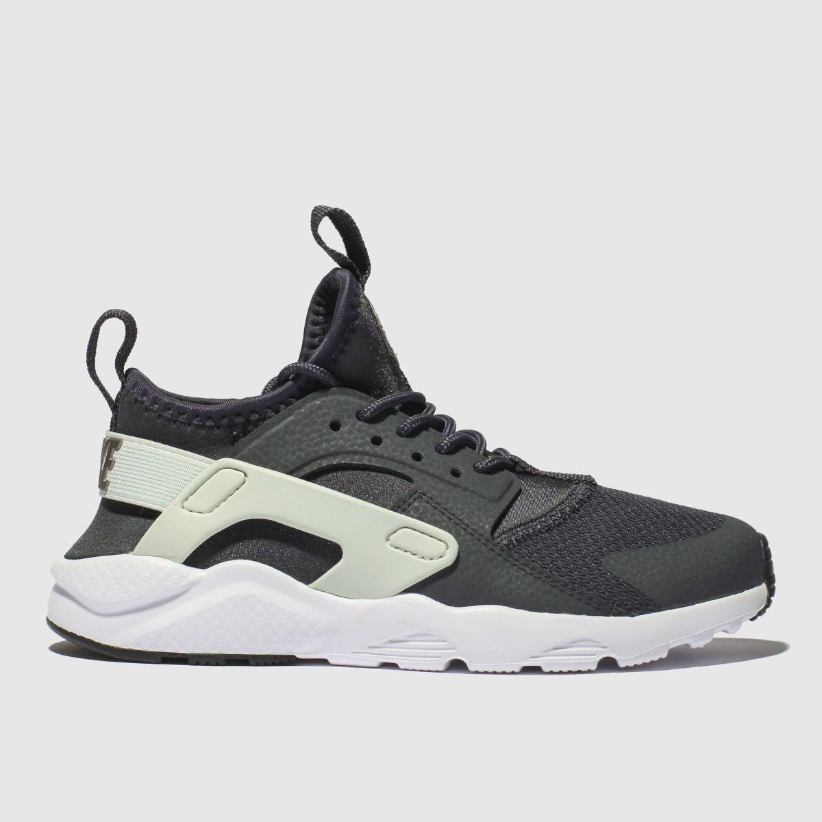 Nike Dark Grey Huarache Run Ultra Trainers Junior