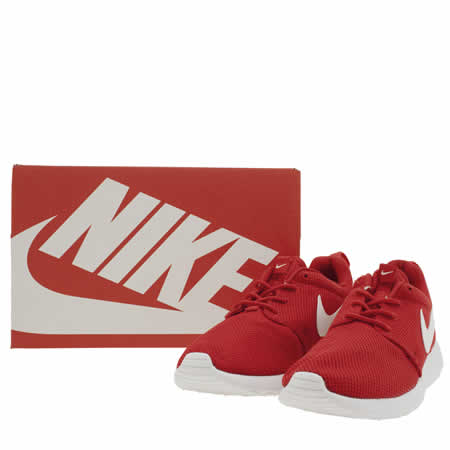 sdjjm Kids Red Nike Roshe One Youth Trainers | schuh
