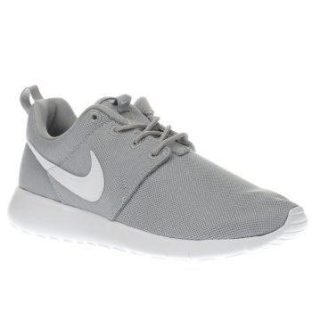 Nike Light Grey Roshe One Unisex Youth