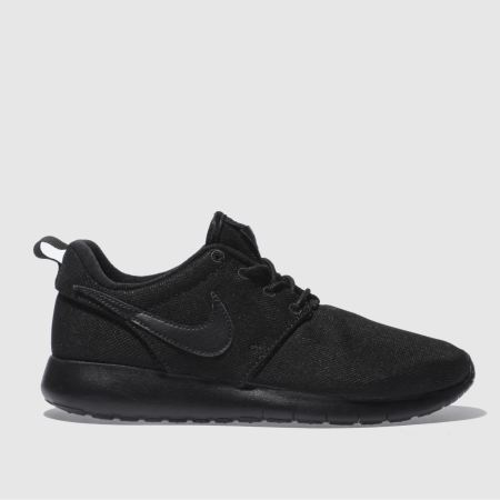 ujlxj Kids Black Nike Roshe One Youth Trainers | schuh