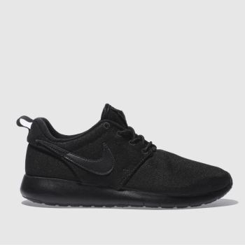 Nike Black Roshe One Unisex Youth