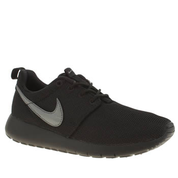 Unisex Nike Black & Grey Roshe One Unisex Youth