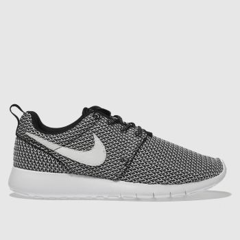 Nike Black & White ROSHE ONE Unisex Youth