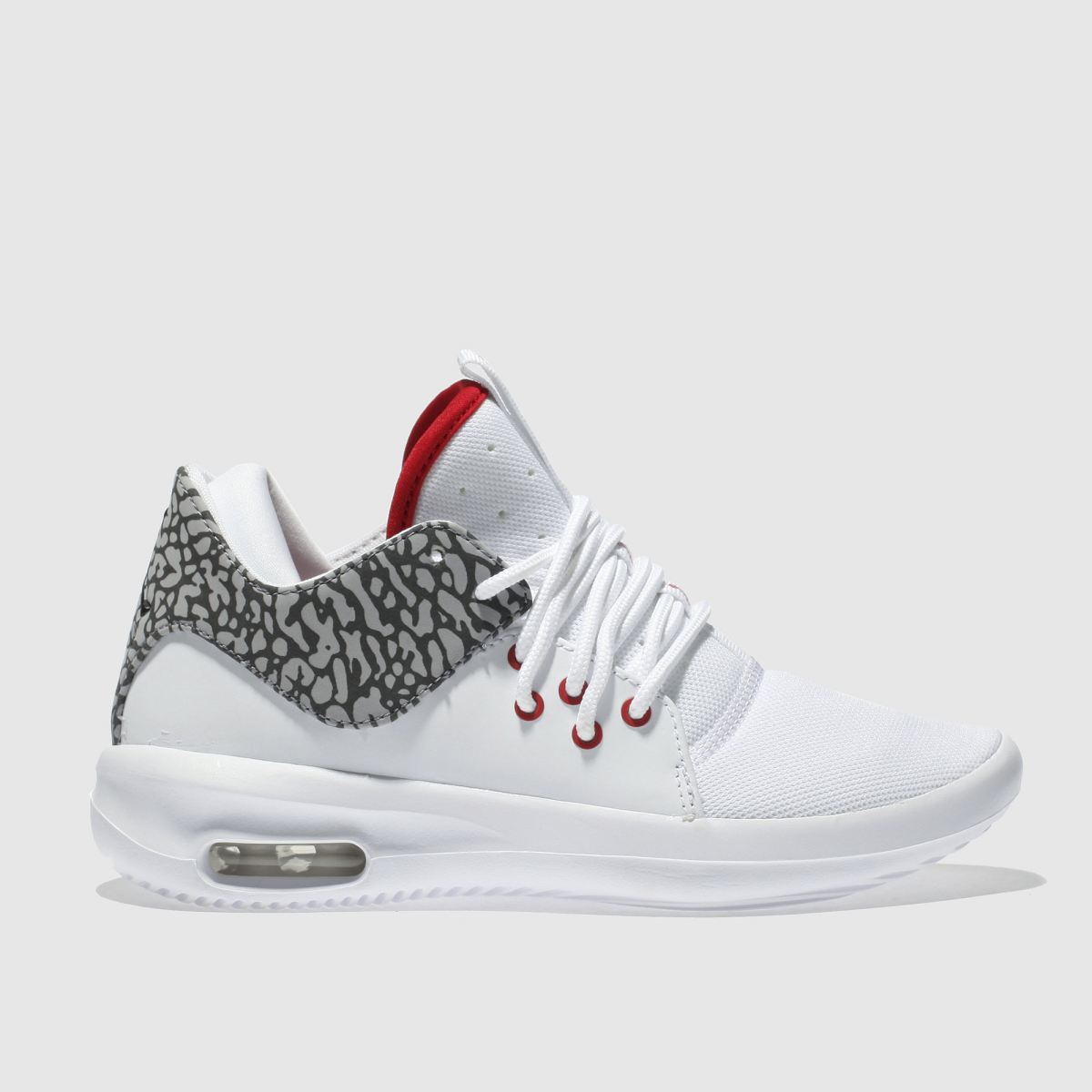 Nike Jordan White & Red First Class Youth Trainers