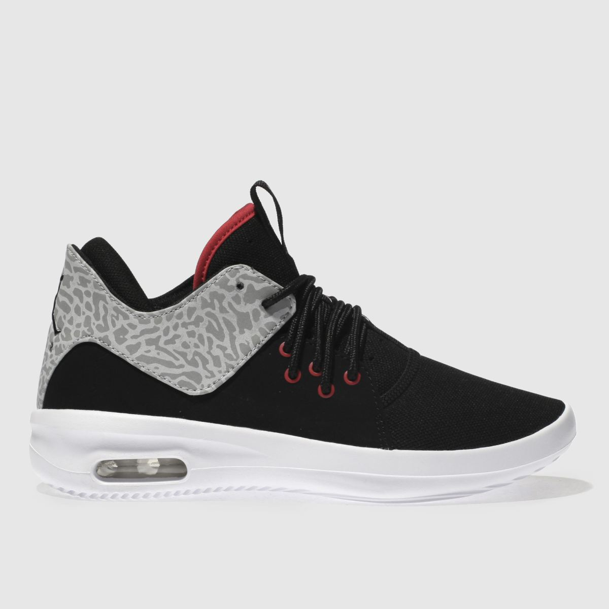 Nike Jordan Black & Grey First Class Youth Trainers